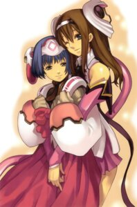 Rating: Safe Score: 13 Tags: ar_tonelico aurica_nestmile mei-mei nagi_ryou User: fireattack