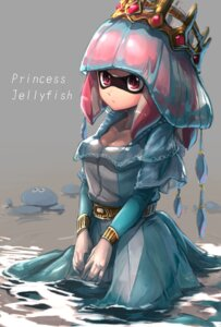 Rating: Safe Score: 21 Tags: cleavage dress inkling_(splatoon) kashu_(hizake) splatoon wet User: Mr_GT
