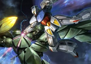 Rating: Safe Score: 9 Tags: gundam mecha turn_a_gundam turn_x User: drop