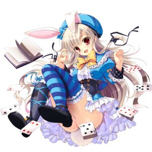 Rating: Questionable Score: 82 Tags: animal_ears ass bunny_ears dress heels mikeou nopan tail thighhighs User: Mr_GT