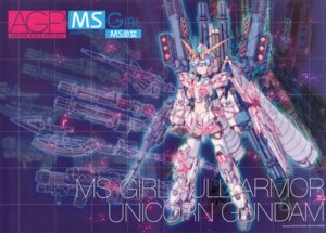 Rating: Safe Score: 9 Tags: gun gundam gundam_unicorn katoki_hajime mecha mecha_musume thighhighs User: Rid