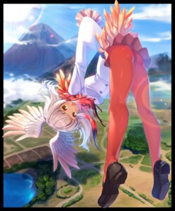 Rating: Safe Score: 39 Tags: ass crested_ibis joey_koguma kemono_friends pantyhose wings User: Mr_GT