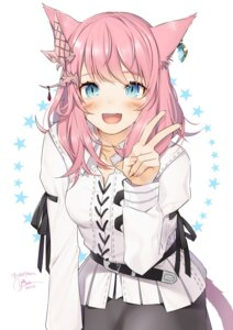 Rating: Safe Score: 29 Tags: animal_ears final_fantasy final_fantasy_xiv miqo'te tail yana_mori User: Mr_GT