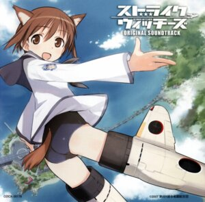 Rating: Safe Score: 6 Tags: miyafuji_yoshika shimada_humikane strike_witches swimsuits User: Nismosis