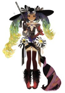 Rating: Safe Score: 9 Tags: matayoshi thighhighs witch User: yumichi-sama