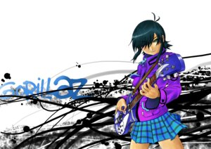Rating: Safe Score: 1 Tags: gorillaz guitar noodle User: charunetra