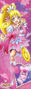 Rating: Safe Score: 9 Tags: aida_mana dokidoki!_precure pretty_cure sharuru_(precure) stick_poster User: Anonymous