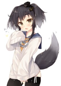 Rating: Safe Score: 57 Tags: animal_ears inumimi kantai_collection miko_92 seifuku sweater tail thighhighs tokitsukaze_(kancolle) User: Mr_GT