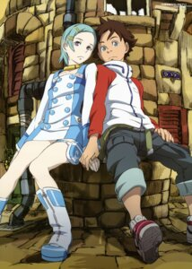 Rating: Safe Score: 20 Tags: eureka eureka_seven renton_thurston yoshida_kenichi User: Share