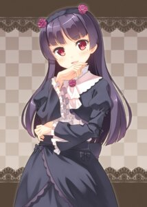 Rating: Safe Score: 38 Tags: dress gokou_ruri hyuuga_azuri ore_no_imouto_ga_konnani_kawaii_wake_ga_nai User: fairyren