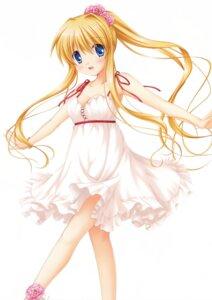 Rating: Safe Score: 6 Tags: air dress hinoue_itaru kamio_misuzu key no_bra skirt_lift summer_dress User: marechal