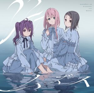 Rating: Safe Score: 23 Tags: 22/7 dress hiragi_tsubomi horiguchi_yukiko kamiki_mikami toujou_yuuki wet User: saemonnokami