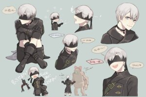 Rating: Safe Score: 5 Tags: male nier_automata pullssack yorha_no._9_type_s User: charunetra
