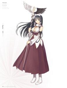 Rating: Questionable Score: 42 Tags: digital_version dress heels tony_taka weapon User: Twinsenzw