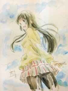 Rating: Safe Score: 20 Tags: flying_witch kowata_makoto nii_manabu pantyhose seifuku sweater User: saemonnokami