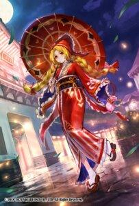 Rating: Questionable Score: 10 Tags: kimono romancing_saga_re;universe tagme umbrella User: Mr_GT