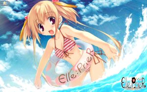 Rating: Safe Score: 42 Tags: bikini cleavage elle_prier etoiles kadoma_konomi moric swimsuits wallpaper User: blooregardo