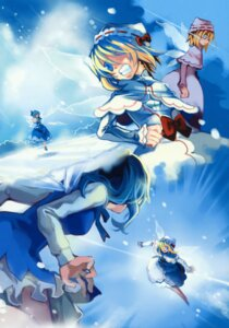 Rating: Safe Score: 5 Tags: cat.lqe cirno lily_white moe_shoujo_ryouiki touhou User: midzki