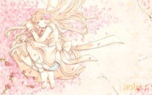 Rating: Safe Score: 14 Tags: 331_(artist) chii chobits dress feet garter pantsu shimapan wallpaper User: charunetra