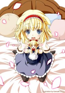 Rating: Safe Score: 26 Tags: alice_margatroid animal_ears kamisaki_sora pantyhose touhou User: Radioactive