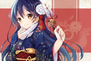 Rating: Safe Score: 45 Tags: kimono love_live! nonono sonoda_umi User: charunetra