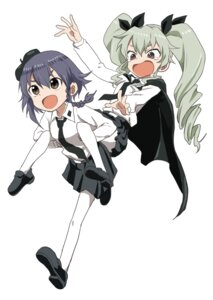 Rating: Safe Score: 18 Tags: anchovy girls_und_panzer pantyhose pepperoni uniform yamamoto_souichirou User: nphuongsun93