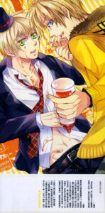 Rating: Safe Score: 4 Tags: america hetalia_axis_powers male megane united_kingdom yaoi User: charunetra