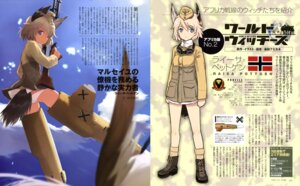 Rating: Questionable Score: 11 Tags: animal_ears ass gun pantsu raisa_pottgen shimada_humikane strike_witches tail uniform User: drop