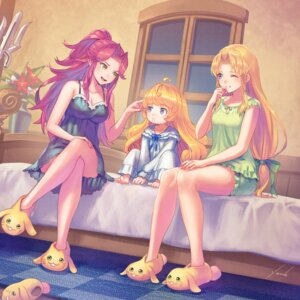 Rating: Questionable Score: 18 Tags: anbe_yoshirou cleavage pajama pointy_ears seiken_densetsu skirt_lift User: Dreista