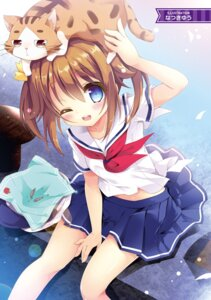 Rating: Safe Score: 53 Tags: digital_version high_school_fleet isoroku misaki_akeno natsuki_yuu neko seifuku User: AltY
