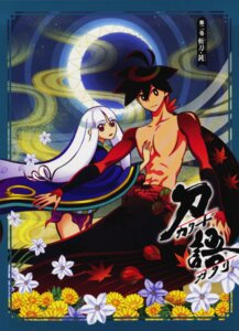 Rating: Safe Score: 4 Tags: japanese_clothes katanagatari togame yasuri_shichika User: DrizztVII