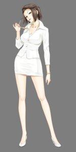 Rating: Safe Score: 74 Tags: business_suit cleavage happoubi_jin heels megane suma_azusa transparent_png zettai_shougeki_platonic_heart User: Nazzrie