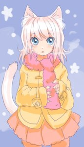 Rating: Safe Score: 10 Tags: animal_ears mosho nekomimi tail User: Radioactive