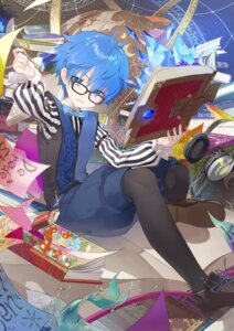 Rating: Safe Score: 8 Tags: caster_(fate/extra_ccc) fate/grand_order male megane pantyhose tonito User: Mr_GT