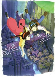 Rating: Safe Score: 12 Tags: dola pazu sheeta studio_ghibli tenkuu_no_shiro_laputa User: Radioactive