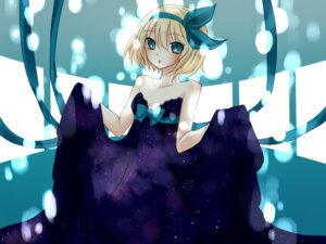 Rating: Safe Score: 10 Tags: dress kagamine_rin vocaloid yayoi User: Nekotsúh