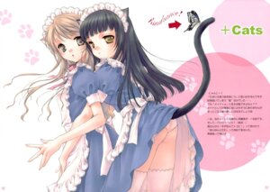 Rating: Safe Score: 20 Tags: animal_ears fixed hime_ichigo maid nekomimi noda_mirei pantsu tail thighhighs User: petopeto