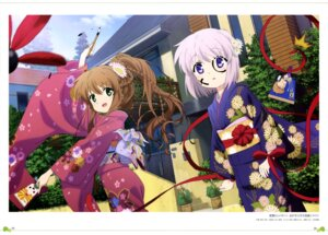 Rating: Safe Score: 22 Tags: kagari_(rewrite) kanbe_kotori kimono nonaka_masayuki rewrite User: drop
