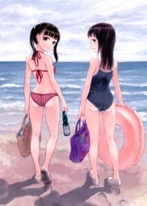 Rating: Safe Score: 67 Tags: ass bikini fujita_hidetoshi school_swimsuit swimsuits User: NotRadioactiveHonest