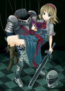 Rating: Safe Score: 23 Tags: alice_margatroid sword touhou unasaka_ryou User: Mr_GT