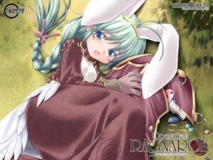 Rating: Safe Score: 5 Tags: animal_ears bunny_ears dress ishihara_masumi jpeg_artifacts merchant ragnarok_online wallpaper User: Tekrelious