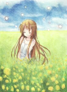 Rating: Safe Score: 9 Tags: clannad dress girl_from_the_illusionary_world mizuki_riyu summer_dress User: yumichi-sama