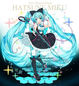Rating: Safe Score: 41 Tags: dress hatsune_miku headphones heels juna pantyhose vocaloid User: nphuongsun93