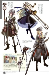 Rating: Safe Score: 18 Tags: alicia_melchiott dress elf honjou_raita isara_gunther megane pantyhose pointy_ears selvaria_bles smoking sword uniform valkyria_chronicles User: blooregardo