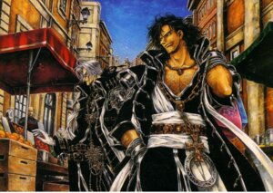 Rating: Safe Score: 2 Tags: abel_nightroad leon_garcia_de_asturias male thores_shibamoto trinity_blood User: Radioactive