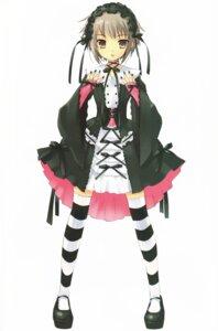 Rating: Safe Score: 33 Tags: gothic_lolita ito_noizi lolita_fashion nagato_yuki suzumiya_haruhi_no_yuuutsu thighhighs User: Share