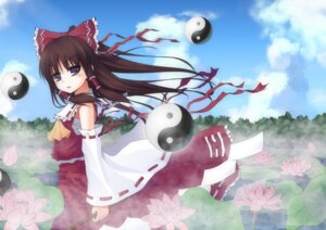 Rating: Safe Score: 7 Tags: 4hands hakurei_reimu touhou User: yumichi-sama