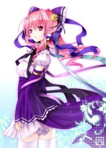 Rating: Safe Score: 44 Tags: sangokushi_taisen thighhighs yuuki_kira User: Radioactive
