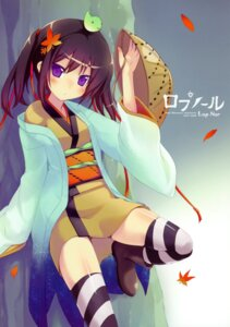 Rating: Safe Score: 43 Tags: japanese_clothes minamura_halki thighhighs twinklesnows User: midzki