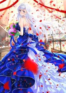 Rating: Safe Score: 36 Tags: azur_lane belfast_(azur_lane) dress no_bra swordsouls wedding_dress User: Mr_GT